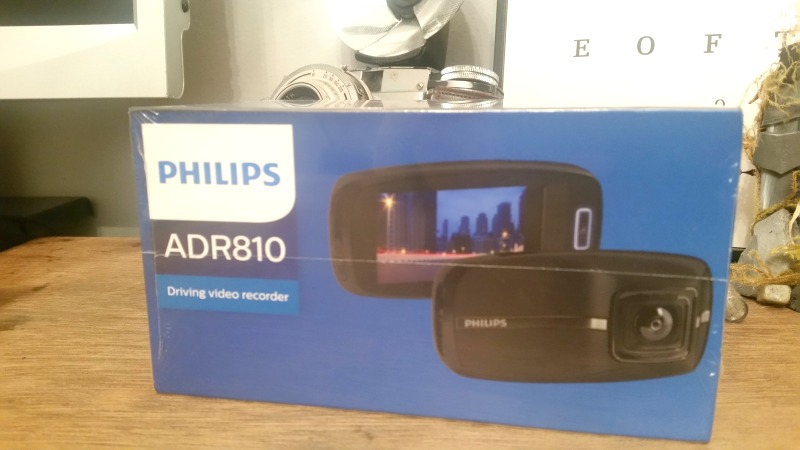 Philips ADR 810 driving video recorder - Box