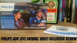Review – Philips ADR 810 driving video recorder