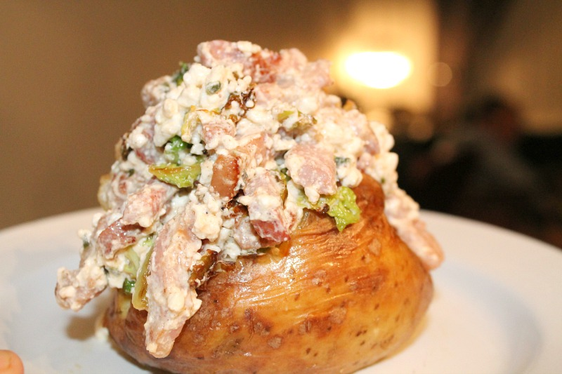 Healthy Easy Recipe Cottage Cheese Jacket Potato with a Twist - Lunch In 5 With McCain -McCain Finished