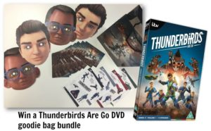 Win a Thunderbirds Are Go DVD goodie bag bundle