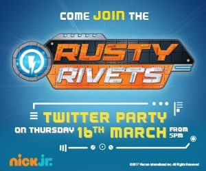 Join us for a fun Rusty Rivets Twitter Party #RustyRivetsUK