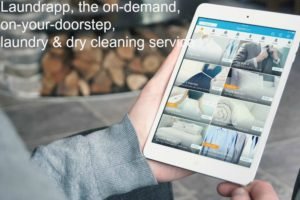 Laundrapp Offer, the on-demand, on-your-doorstep, laundry and dry cleaning service