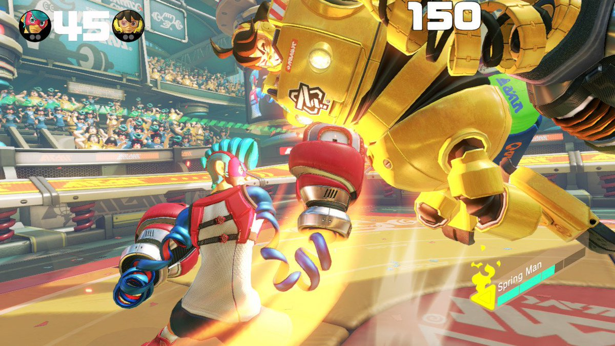 ARMS for Nintendo Switch Review - Arms 3