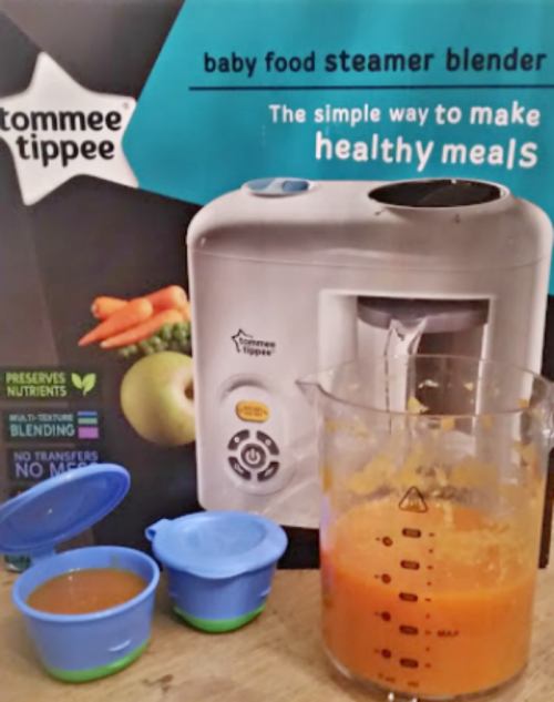 Review Tommee Tippee Steamer Blender For Hallowean Treats