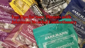 Top Tips for Sore Throats with Jakemans Menthol Confectionary