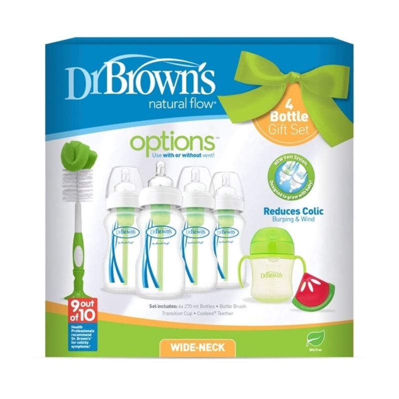 Dr Browns Options 4 Bottle Gift Set Smyths baby catalogue