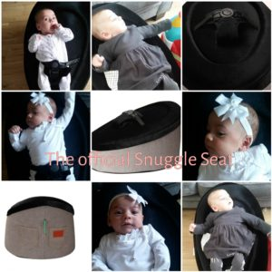 Snuggle Seat baby bean bag chair Review
