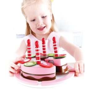 Hape Wooden Double flavoured birthday cake Review
