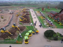 Tractortastic Castleford Diggerland theme park Review