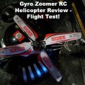 Gyro Zoomer RC Helicopter Review - Flight Test!