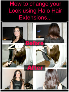 How to change your hair using Halo Hair Extensions