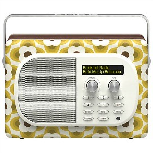 Pure Evoke Mio DAB Radio, Orla Kiely Buttercup Edition - Featured