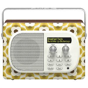 Pure Evoke Mio DAB Radio, Orla Kiely Buttercup Edition - Featured