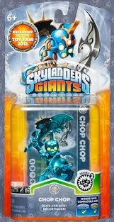 Skylanders Giants New York Toy Fair Chrome Blue Chop-Chop