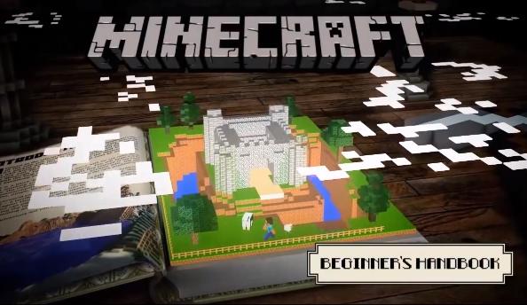 Minecraft official beginner's handbook
