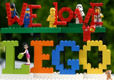 Sharing The Lego Love