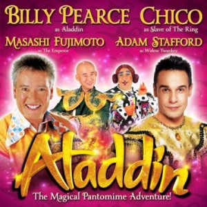 Aladdin at the Alhambra Theatre Bradford