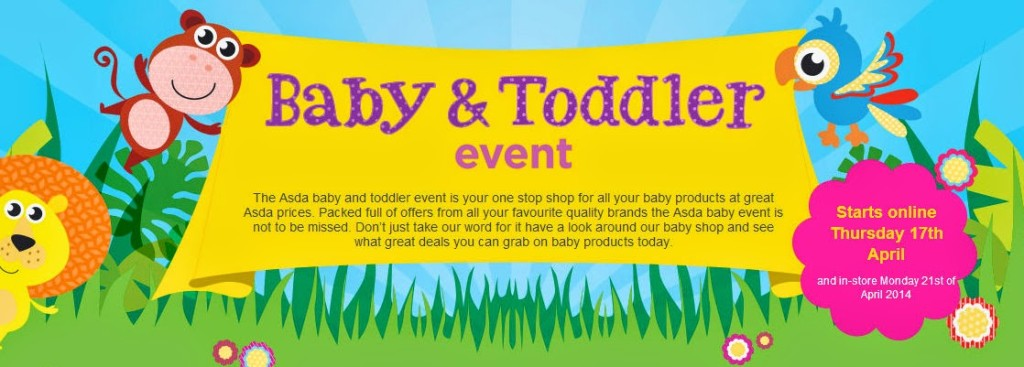 Asda Baby and Toddler Event April 2014