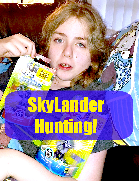 skylanders hunting