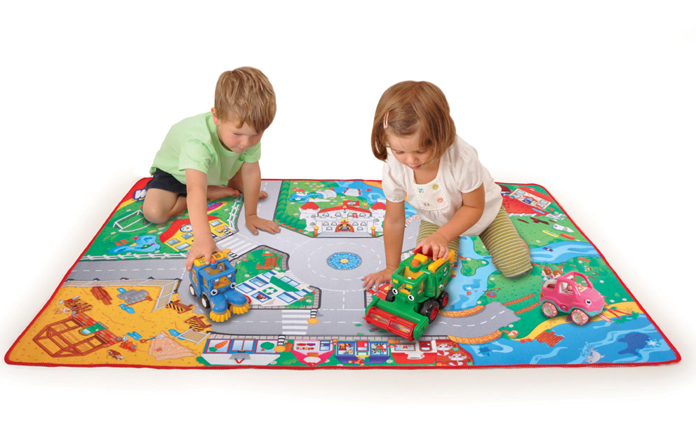 WOW Toys car mat & cars