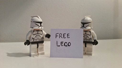 Free Lego Daily mail September 2014