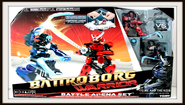 Battroborg Warriors - Ninja Robot