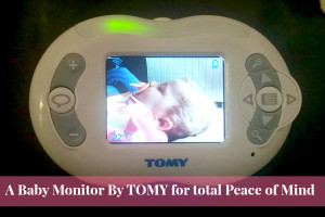 baby monitor by tomy video display