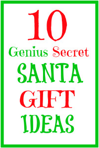 10 Genius Secret Santa Gift Ideas for 2015