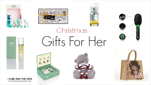 Christmas Gifts for her list of gifts 2014