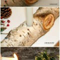 Easy Christmas Crafts for Kids - Tutorial YULE Log