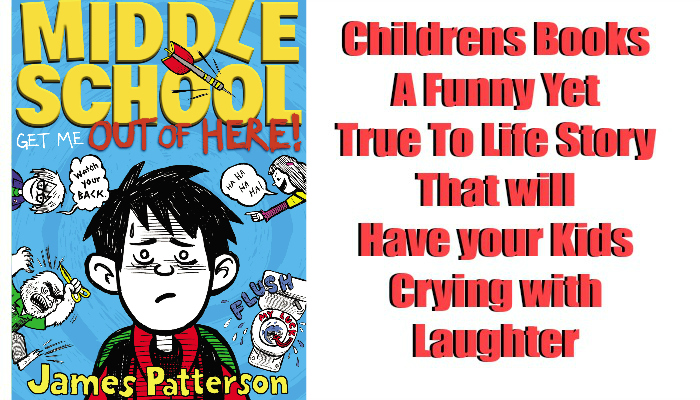 Middle School Lets get out of here! by James Patterson