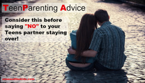 Consider this before saying NO to your Teens partner staying over! featured