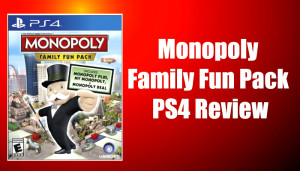 Monopoly Family Fun Pack game cover
