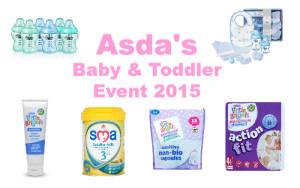 Asda baby & toddler event 2015