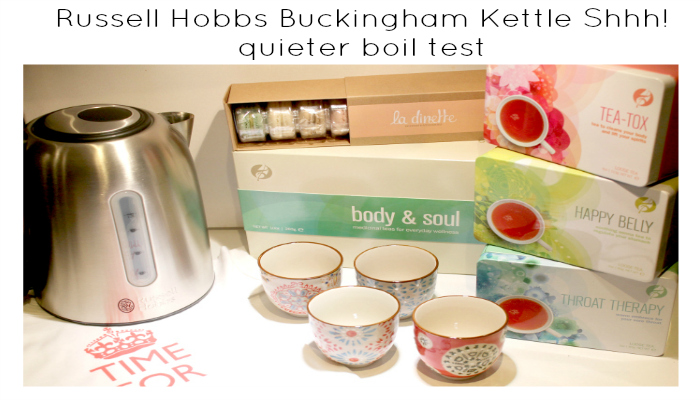 Russell Hobbs Buckingham Kettle Shhh! quieter boil test featured