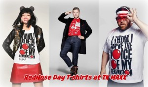 red nose day 2015 t shirts celebrities wearing