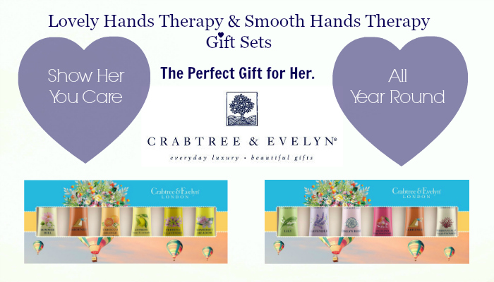 CRABTREE & EVELYN HAND CARE GIFT SETS