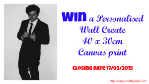 Wall Create Personalised Canvas