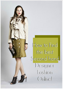 How to find Second-hand-designer-fashion-online