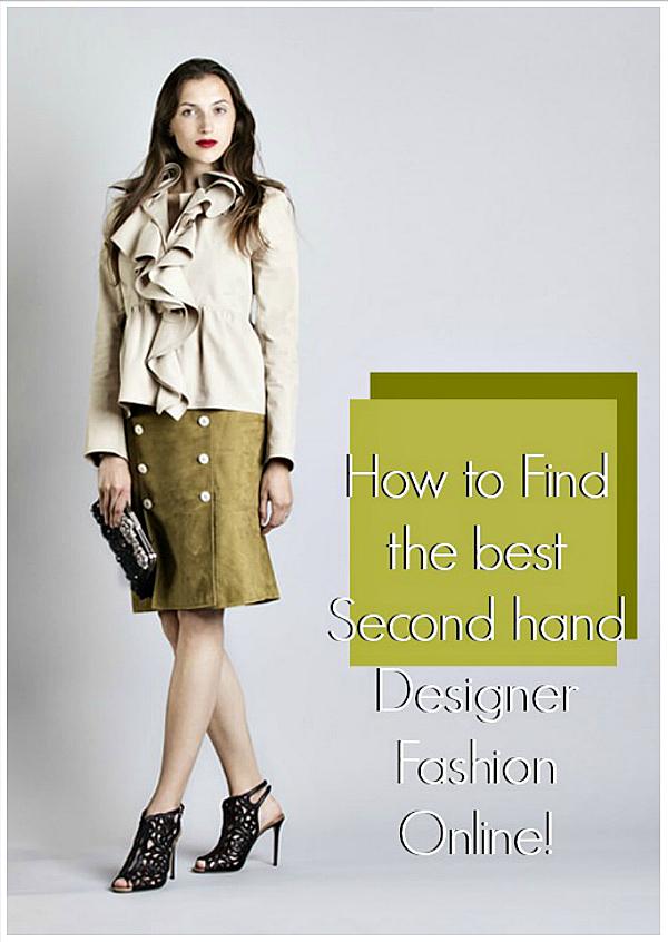 How to find Second-hand-designer-fashion-online