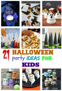 21 Halloween Party Ideas for kids