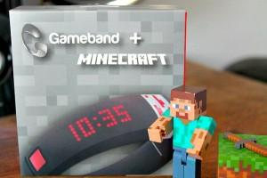 Gameband + Minecraft