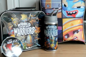 World of Warriors Lunch set