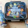 world of warriors Lunchbag set