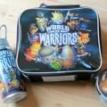 world of warriors Lunchbag set