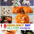 10 Ghoulishly easy halloween recipes