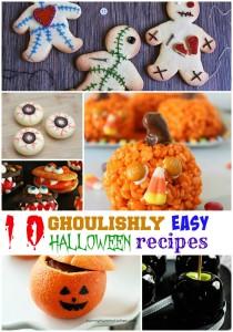 10 Ghoulishly easy halloween recipes