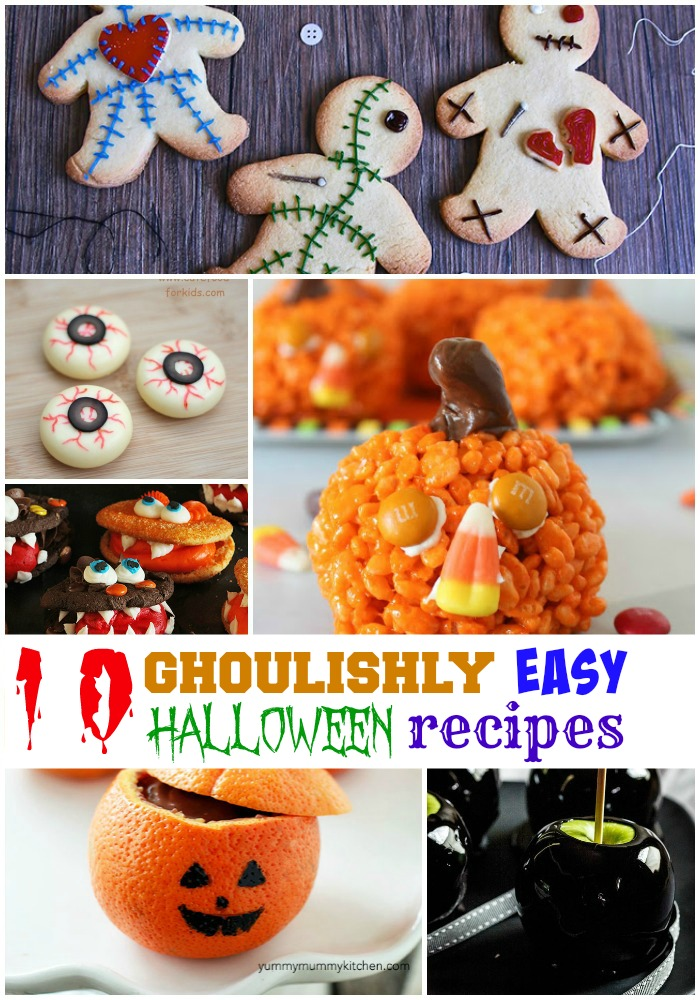 10 ghoulishly great easy halloween recipes for kids