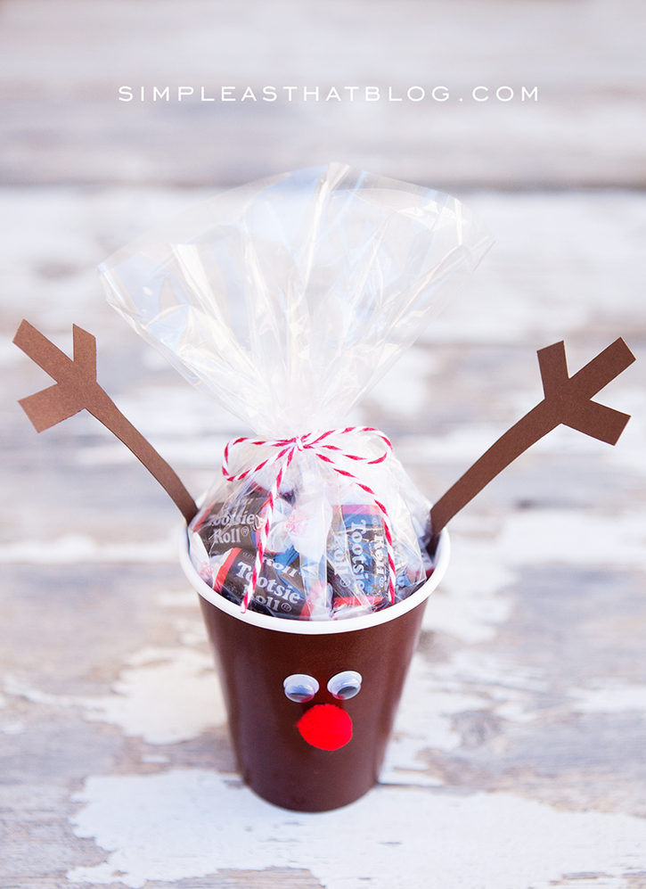 Christmas Party Ideas For Kids Treat Cups