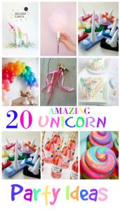 20 Amazing Unicorn Party Ideas for Kids
